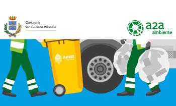 Amsa ed Egea, i nuovi gestori del servizio igiene ambientale in città