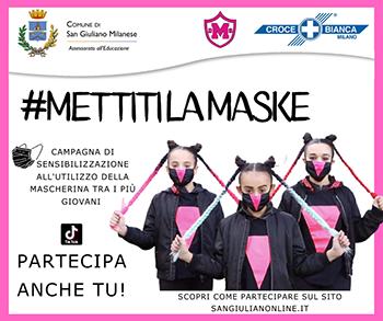 Campagna di sensibilizzazione all'uso della mascherina