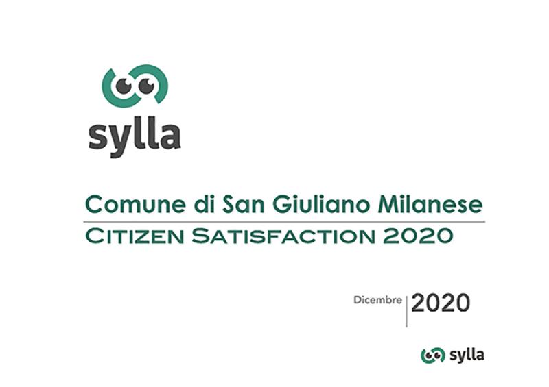 Indagine citizen satisfaction 2020