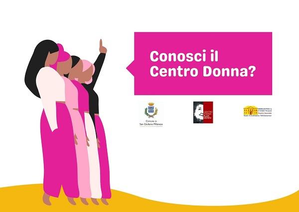 Conosci il Centro Donna? Ci servono le tue idee....