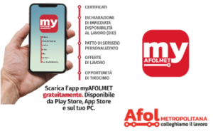 MyAFOLMET: una nuova app dai Centri per l'impiego