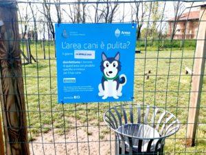 Disinfezione aree cani