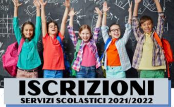 Iscrizioni Servizi Scolastici a.s. 2021-2022