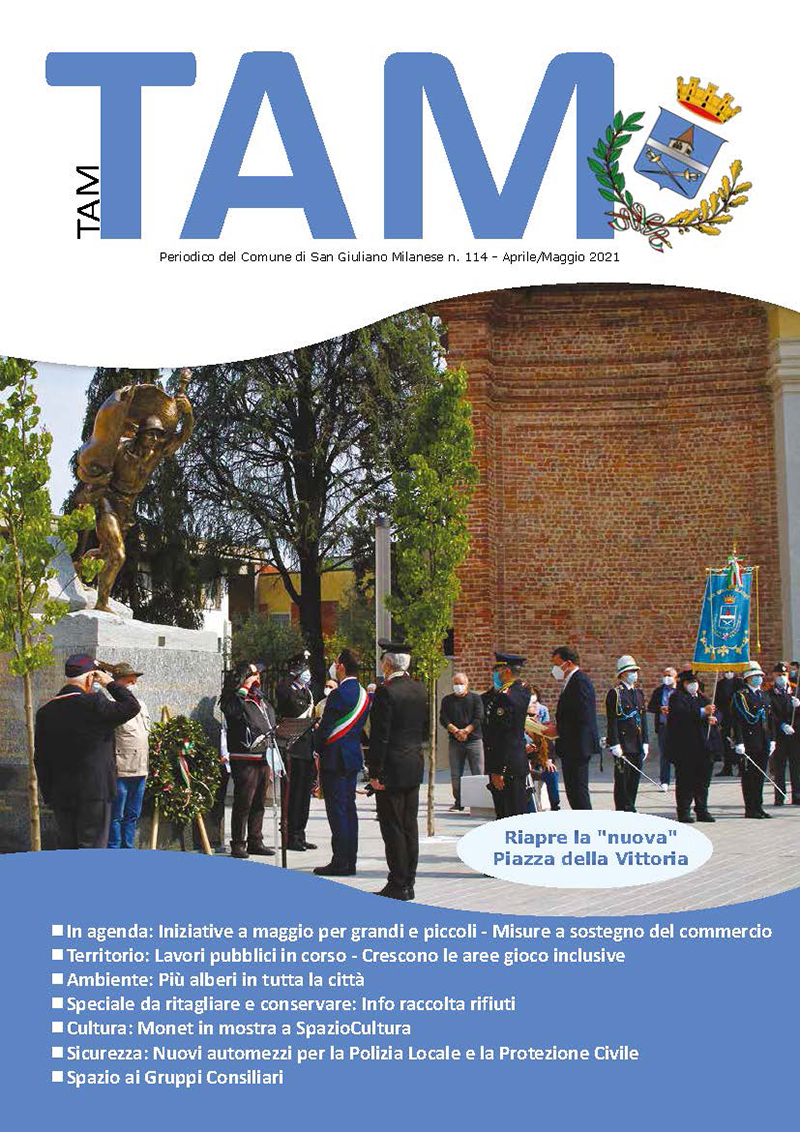 Tam Tam – aprile/maggio 2021