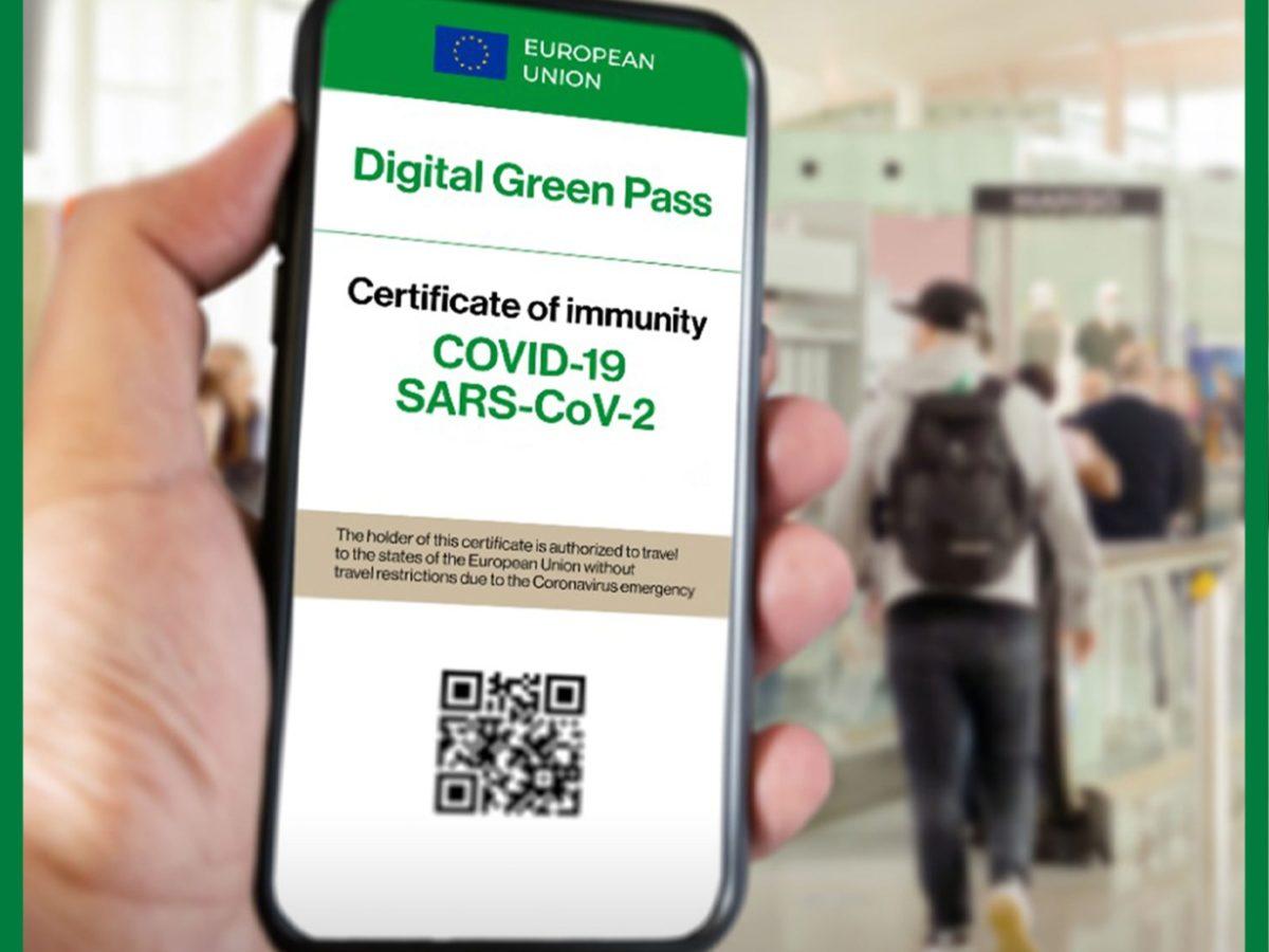 Info certificazione Verde Covid 19 (Green Pass)