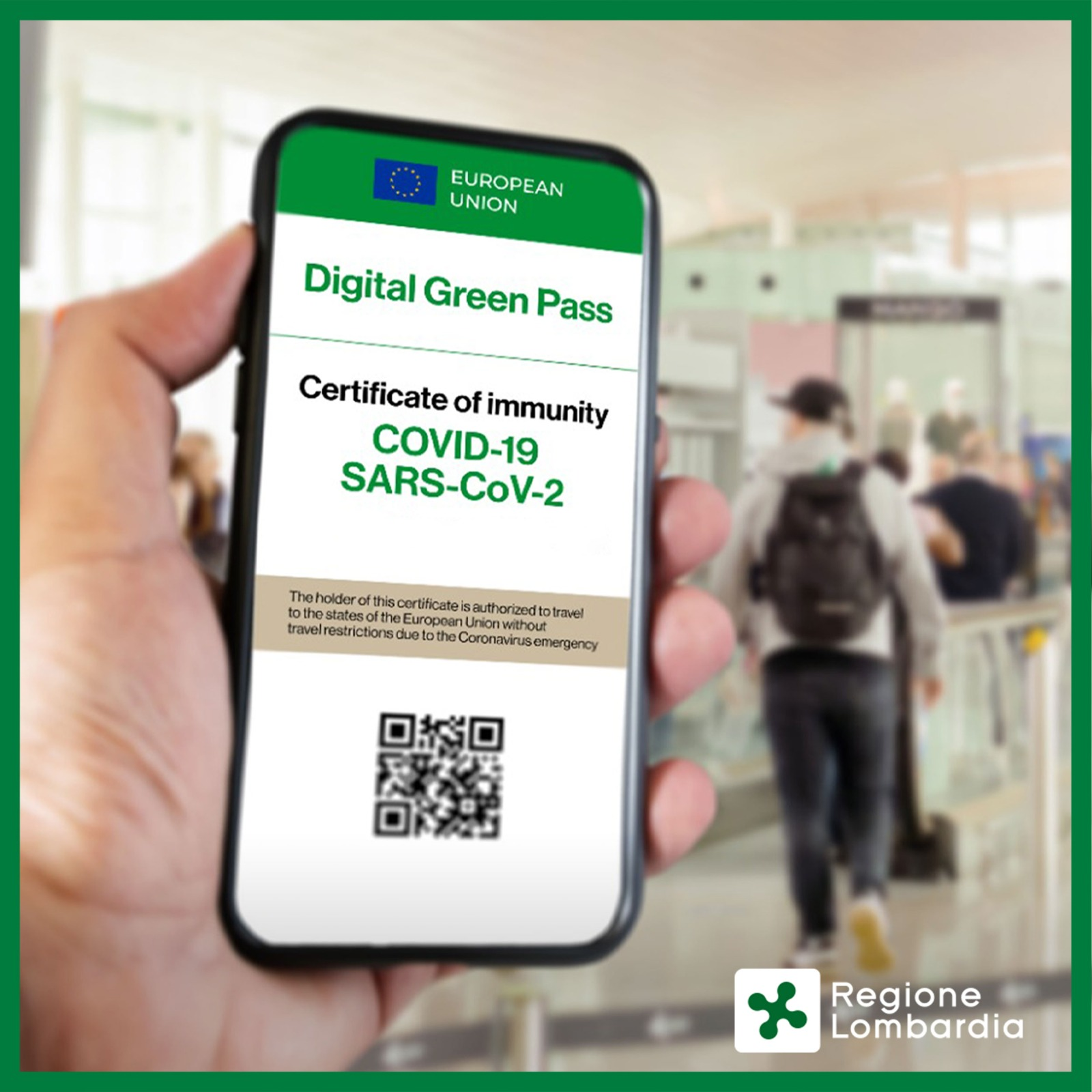 Certificazione Verde Covid 19 (Green Pass)