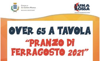 Pranzo di Ferragosto 2021 per gli over 65