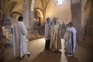 L'Arcivescovo Delpini a Viboldone