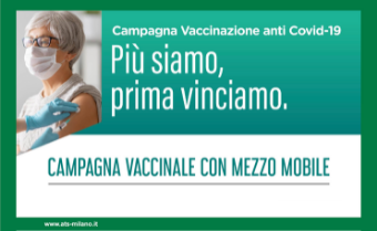 A San Giuliano arriva il Camper Vaccinale AREU