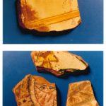 Frammenti di ceramica rinascimentale