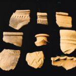 Frammenti di ceramica aretina