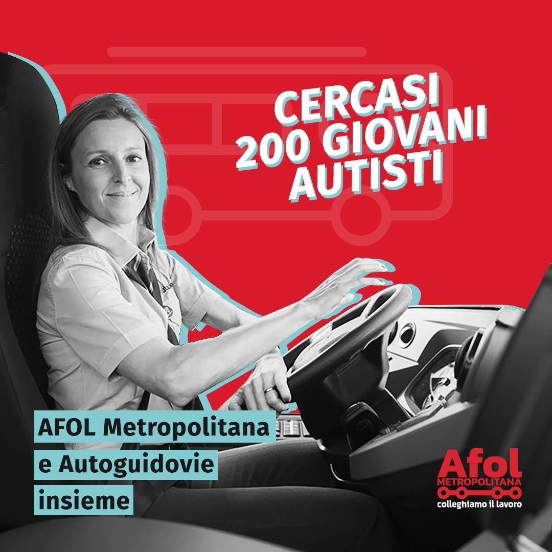 "AFOL cerca 200 giovani per la nuova ""Autoguidovie Academy"""