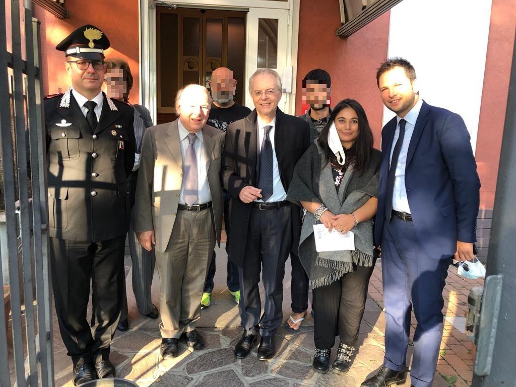 Accoglienza Afghani: visita del Prefetto di Milano al C.A.S. di San Giuliano