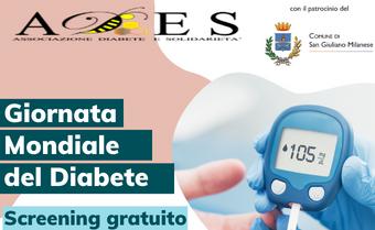 Giornata Mondiale del Diabete 2021: controllo gratuito della glicemia